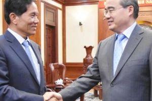 TP.HCM muốn đẩy mạnh hợp tác với Phnompenh về nông nghiệp...