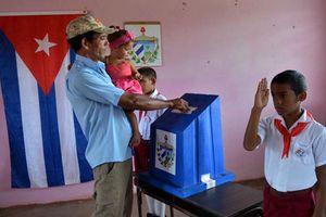 Hơn 7,3 triệu cử tri Cuba đi bỏ phiếu bầu cử Quốc hội 2018