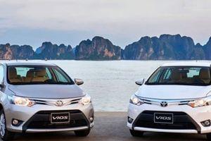 Bảng giá xe Toyota tháng 3/2018