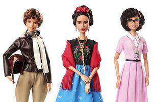 Búp bê Barbie cho ra mắt 17 hình mẫu búp bê được mô phỏng theo người phụ nữ nổi tiếng