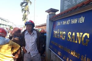 Gia Lai: Người dân bao vây công ty nông sản khi nghe tin giám đốc 'biến mất'
