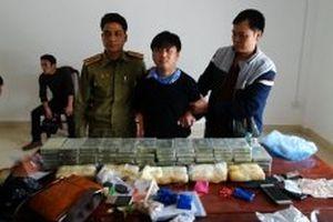 Triệt phá đường dây vận chuyển ma túy lớn tại Điện Biên