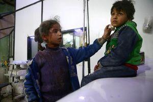 Mong manh số phận 'ngàn cân treo sợi tóc' tại tử huyệt Đông Ghouta