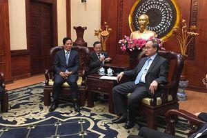 Ông Nguyễn Thiện Nhân tiếp Đoàn đại biểu cấp cao Thủ đô Phnom Penh