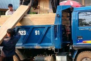 Lai Châu: Chuyển gỗ từ rừng giữa ban ngày, kiểm lâm không hay biết