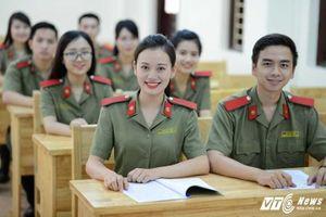 Tuyển sinh trường công an, quân đội: Những điểm mới thí sinh cần biết