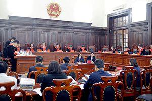 Phiên họp toàn thể Hội đồng Thẩm phán TANDTC tháng 3/2018