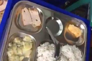 Ý kiến trái chiều về clip phụ huynh bức xúc vì bữa cơm 13 nghìn của con quá đạm bạc