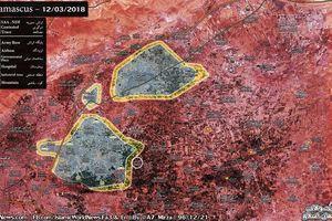'Sư đoàn thép' Syria quyết đánh gục phe thánh chiến tử thủ Đông Ghouta