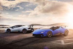 Chiêm ngưỡng 'siêu bò' Lamborghini Huracan Performante Spyder: mui trần lạ mắt, tốc độ tối đa 325 Km/h
