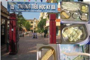Thái Bình: Miếng chả cho bữa ăn trưa của học sinh 'mỏng như tờ giấy'