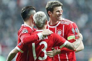 Bayern Munich lần thứ 7 liên tiếp vào tứ kết Champions League