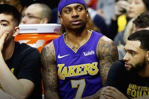 Lục đục nội bộ ngay trong trận, Isaiah Thomas có đang hủy hoại Lakers?
