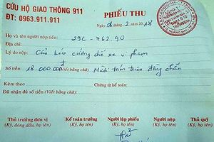 Chủ xe vi phạm ở Hà Nội phải trả 18 triệu phí cẩu xe: Lãnh đạo Đội CSGT số 14 nói gì?