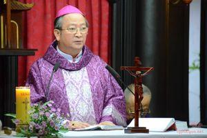 Tối nay, linh cữu Đức Tổng Giám mục Phaolô Bùi Văn Đọc sẽ về đến TP HCM