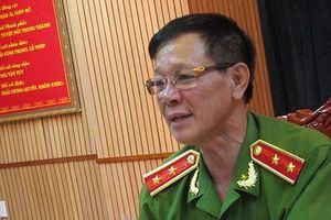 Chân dung tướng Phan Văn Vĩnh vừa được Công an Phú Thọ mời làm việc