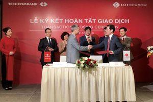 Techcombank bán toàn bộ vốn góp tại TechcomFinance cho Hàn Quốc