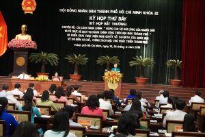 HĐND TPHCM họp bất thường xem xét các tờ trình triển khai cơ chế đặc thù