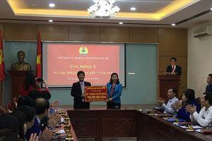 LĐLĐ thành phố Hà Nội kêu gọi ủng hộ Quỹ Vì Trường Sa thân yêu
