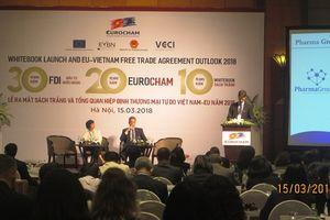 Lễ công bố Sách Trắng và Tổng quan Hiệp định Thương mại tự do Việt Nam - EU năm 2018