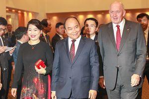 Thủ tướng dự tiệc kỷ niệm 45 năm thiết lập quan hệ Việt Nam-Australia