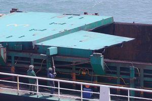Bán phế liệu tàu Mông Cổ chìm tại vịnh Quy Nhơn