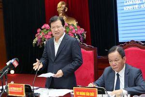Khẩn trương hoàn thiện đề án ổn định vùng tái định cư thủy điện Sơn La