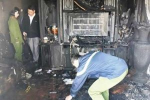 Người chết thảm, nhà cháy rụi vì làm hàng xóm bực mình