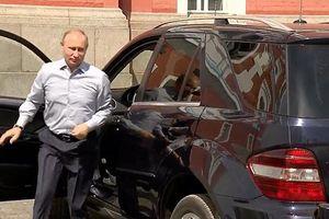 Tổng thống Putin suýt trở thành tài xế taxi