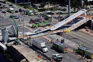 Hoa Kỳ: Sập cầu đi bộ 950 tấn, ít nhất 4 người chết, 2 nguy kịch