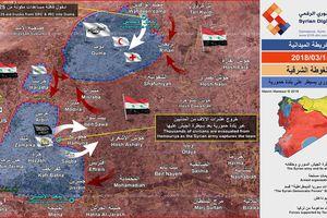 Quân đội Syria đè bẹp phe thánh chiến, chiếm 70% diện tích, đón 13 nghìn dân di tản từ Đông Ghouta
