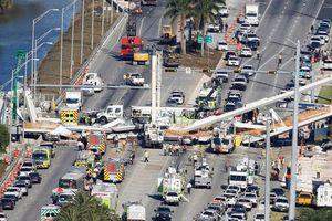 Lắp đặt thần tốc trong 6 tiếng, cầu đi bộ sập nát khiến 4 người thiệt mạng ở Mỹ