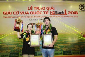 Chân dung nhà vô địch giải cờ vua quốc tế HDBank 2018