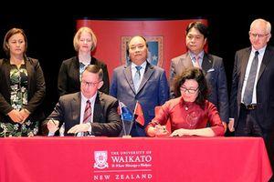BHXH Việt Nam ký kết hợp tác với Đại học Waikato, New Zealand