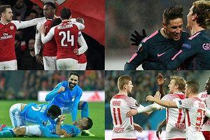 Chân dung 8 đội bóng giành quyền vào tứ kết Europa League