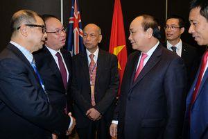 Thủ tướng gặp doanh nhân, trí thức tiêu biểu người Việt tại Australia