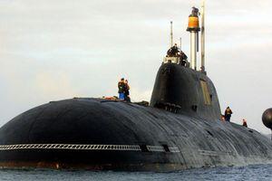 Tàu ngầm hạt nhân Nga âm thầm luyện tập gần căn cứ quân sự Mỹ