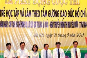 Cuộc thi 'Tuổi trẻ học tập và làm theo tư tưởng, đạo đức, phong cách Hồ Chí Minh'
