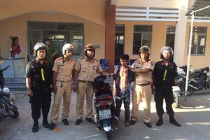 Trộm xe máy từ Bình Thuận, vào TP.HCM tiêu thụ bị CSGT bắt gọn