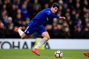 Alvaro Morata và điều bất ổn với đôi chân 60 triệu bảng