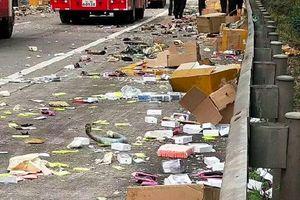 Nghi vấn lô iPhone tiền tỷ về Việt Nam nát vụn sau tai nạn