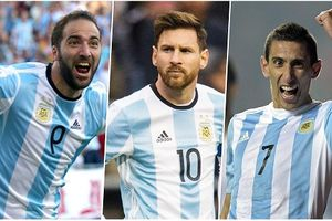 Danh sách cầu thủ Argentina: 'Vận đen' Higuain sánh bước cùng Messi