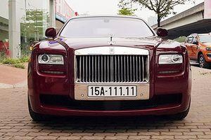 Rolls-Royce Ghost biển 'ngũ quý 1' chỉ hơn 11 tỷ tại Hà Nội