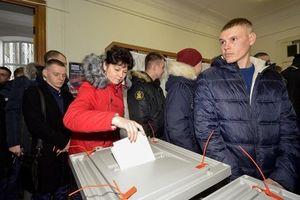 Bầu cử Nga: Phần đông người dân Nga chỉ tin Tổng thống Putin