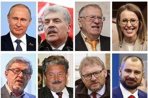 Những diễn biến đầu tiên về cuộc bầu cử Tổng thống Nga