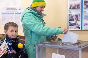 100 triệu cử tri Nga bắt đầu bỏ phiếu bầu Tổng thống