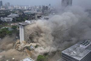 Cháy lớn ở khách sạn tại thủ đô Philippines