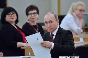 Bầu cử tổng thống Nga: Ông Putin giành được 76,65% số phiếu bầu