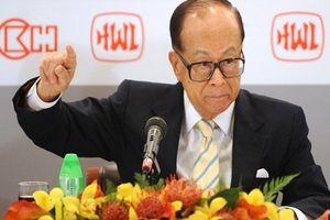 Sự nghiệp sóng gió của tỷ phú giàu nhất Hong Kong Lý Gia Thành