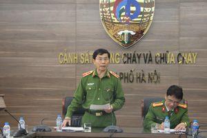 Thăng cấp hàm cho chiến sĩ cảnh sát PCCC tử vong trong tai nạn trên đường cao tốc